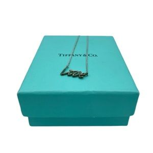 Tiffany and Co Love Pendant Necklace